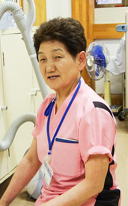 工藤静子(高齢再雇用)